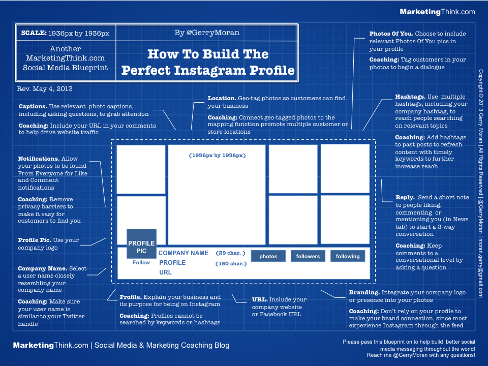 How to build the perfect instagram profile infographic perfect instagram profile11 malvernweather Gallery