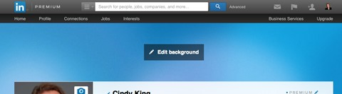 Using the LinkedIn Header Image Feature